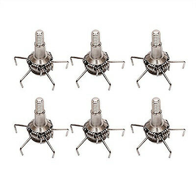 Pack of 6 Archery Small Game & Target Points Bowhunting Hunting Broad head#P7P1