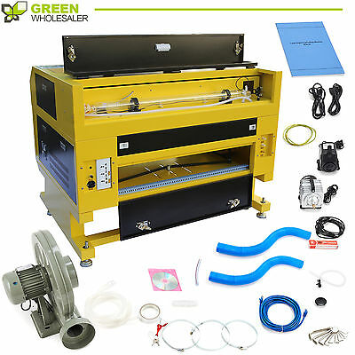 High Precise 60W CO2 Laser Engrave Machine comes w/ USB Interface