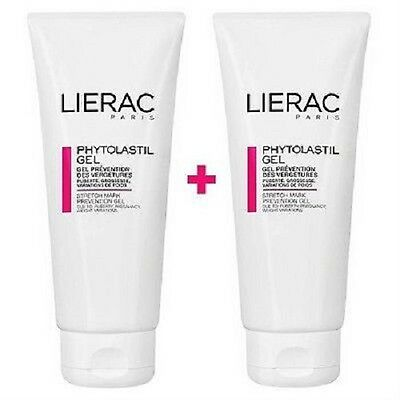 2 x LIERAC Phytolastil Anti-Stretch Mark Gel 2 x 200ml (400ml) LARGE TUBES!