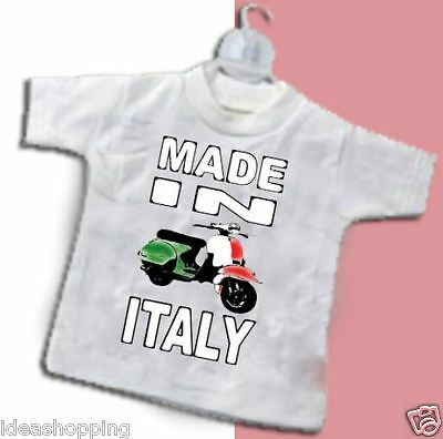 MINI MAGLIETTA  da auto T-SHIRT DA APPENDERE MADE IN ITALY