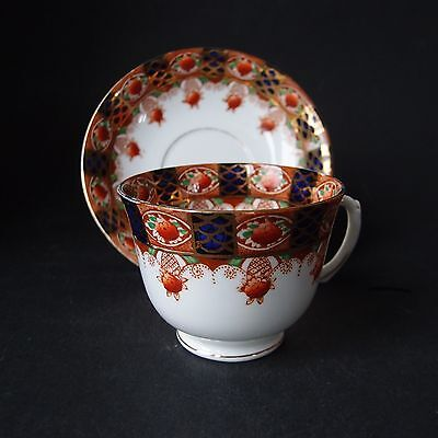 Vintage Stanley China Cup & Saucer Imari Style 4197 - 1930s