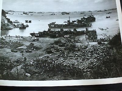 "Lot of 8"" x 10"" original photographs from Okinawa 1945 - WWII"