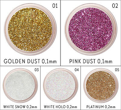 100G Glitter Dust Nail Art Craft Floristic Holographic Iridescent