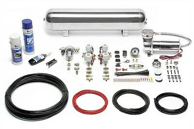 Airride Air Suspension Fan Zeugungs Kit Compressor 480 Chrome Tank 19L Lfkit12