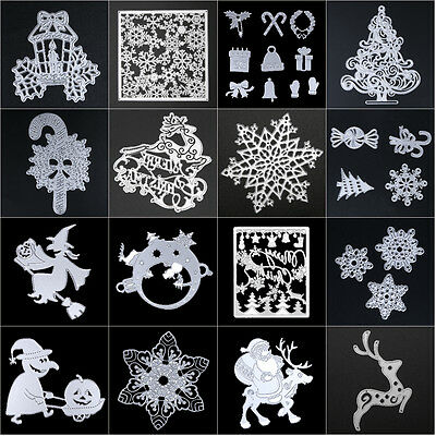 Metal DIY Cutting Dies Stencil Scrapbooking Album Paper Card Embossing Craft Lot