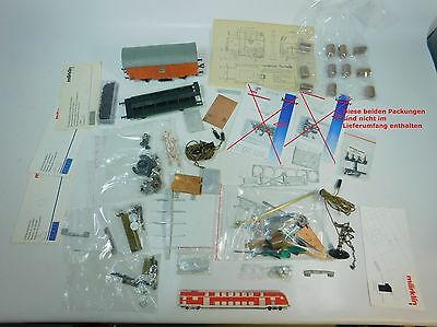 AG857-3# Hobbyist's Job Lot Spur 0, 0m,1 Etc. Biller, Utz Ag, Pola, Märklin etc.
