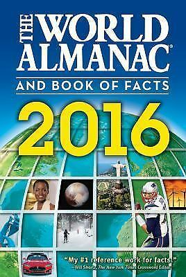 The World Almanac and Book of Facts 2016 by