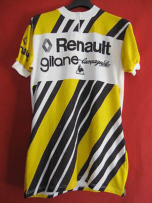 Maillot cycliste Renault Gitane Campagnolo Vintage cycling jersey Equipe Pro - 5