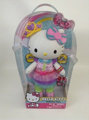 "NEW Hello Kitty Princess Large 12"" Doll Blip Toys Poseable Official Sanrio Rare"