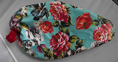 Paperchase Products Roses Flower Design Bicycle Bike Saddle Cover New Tagged