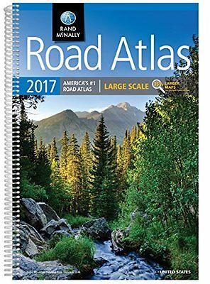 Rand McNally 2017 Large Scale Road Atlas Rand Mcnally Large Scale Road Atlas USA