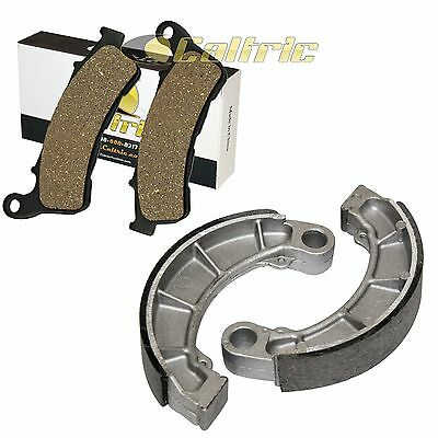 FRONT BRAKE PADS and REAR BRAKE SHOES FIT HONDA PS250 BIG RUCKUS 250 2005-2006