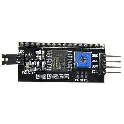 IIC/I2C/TWI/SPI Serial Interface Board Module Port for Arduino 1602LCD Display