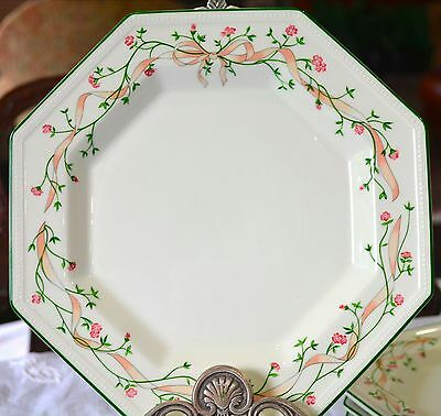 "LOT of 6 DINNER PLATES by ENGLISH Johnson Bros ""Eternal Beau"" $40.00 + post"