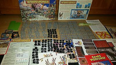 Warhammer The Game of Fantasy Battles 4th edition, NEW 100% complete [ENG, 1992]