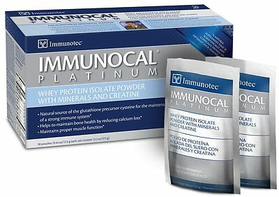IMMUNOCAL PLATINUM 30 pack Natural Glutathione strong Immune System