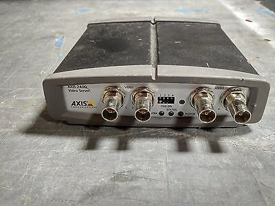 Axis 240Q 4-Channel Video Server CCTV IP Network Encoder - Free Shipping