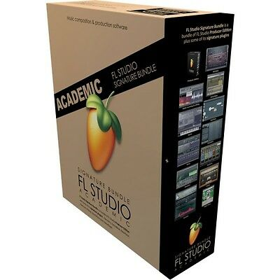 Image Line FL Studio 20 Signature Edition Academic Software Download Windows