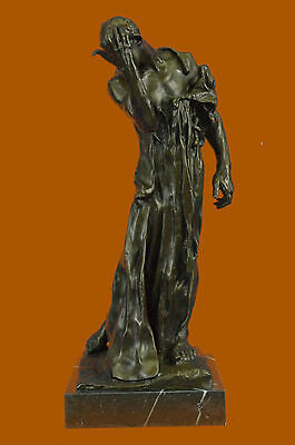 Augustine Rodin Museum Quality  Classic Artwork Detailed Bronze Figurine Figure