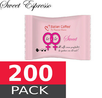 Sweet espresso - 200 capsules pack  Espresso Point MAXI compatible
