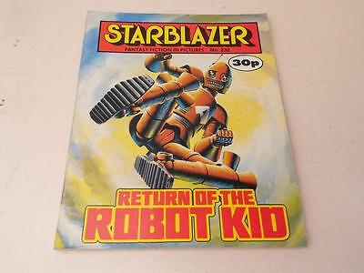 Starblazer Comic No.232 Return of the robot kid