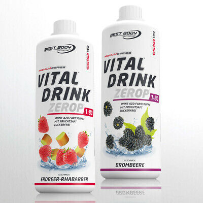 10,00€ /Ltr.Best Body Nutrition Low Carb Vital Drink 2 Fl. Getränkesirup vegan