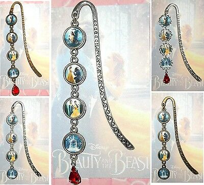 BEAUTY And The BEAST Bookmark Pendant Book Mark Disney 2017 Movie Emma Watson