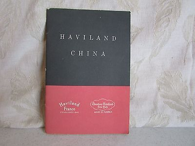 Vintage Haviland China Catalog Marks Information plus Pattern Guides