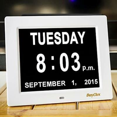 Dayclox The Original Memory Loss Digital Calendar Day Clock With Extra Large Non