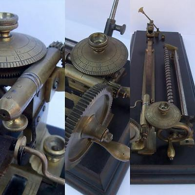 Superb Antique Goodbrand & Co. Manchester Thread/Yarn Tensile Strength Tester