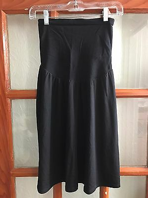 Oh Baby By Motherhood Jersey Maternity Skirt With Full Panel. Size L. NWT