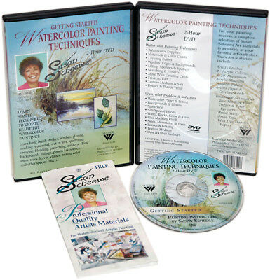 Susan Scheewe Watercolor Painting Techniques DVD  SDVD-102