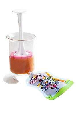 Fill n Squeeze Starter Pack Pouch Filler and Squeezee pouches