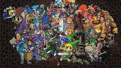 NEW Legend of Zelda Jigsaw Puzzles 1000 pieces Game Toys Hobbies Plays Kids Boys