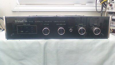 mcintosh mc502 stereo power amplifier tested 500 00 picclick