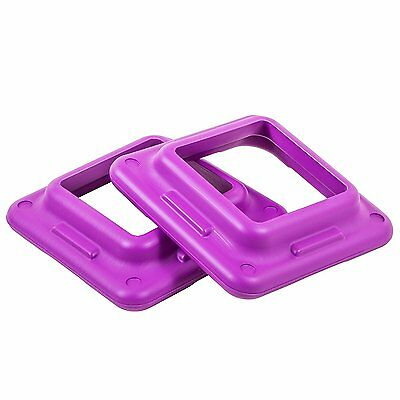 Purple Aerobic Risers Health Club Size For Workout More Calories Burning New