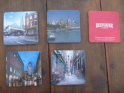 Beefeater Gin - Promotional Cork Coaster Set  - New - 2015 lot of 13