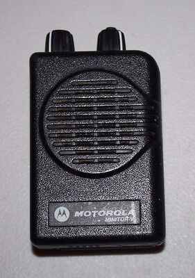 Motorola Minitor V A03KMS9239BC 2 Channel SV VHF High Band 151-158.9975 Pager