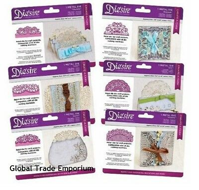New Crafters Companion DIE'SIRE CREATE A CARD 2017 Full Diesire Range - FAST P&P