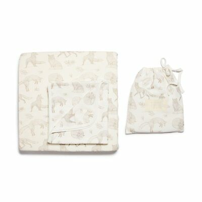 Wilson & Frenchy Foxy Bassinet Sheet Set