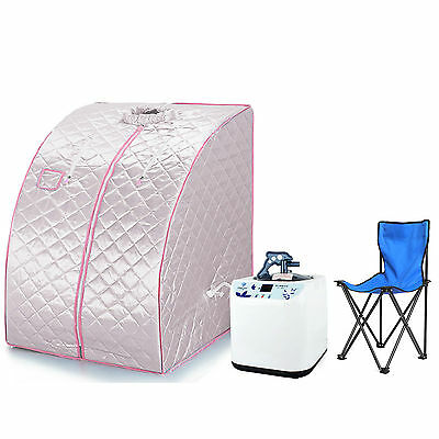 Portable Home Steam Sauna mini sauna cabin in 3 colors  EU Adapter not for UK