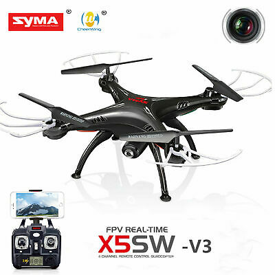 Syma X5SW Explorers 2.4G  RC Headless Quadcopter 2MP HD Wifi Camera FPV drone