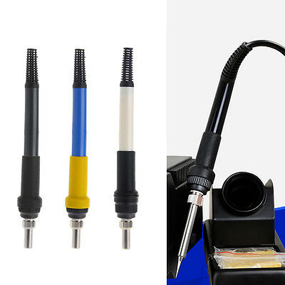 T12 Heater Handle For Modification Hakko 936 Soldering Station Iron DIY 3 Colors