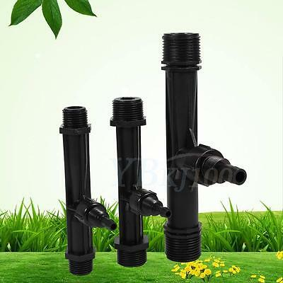 Durable Irrigation Venturi Fertilizer Injector Device Garden Farm Switch Fliter