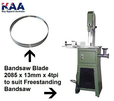 Bandsaw Blade 2085 x 13mm x 4 TPI to suit Freestanding Bandsaw, Home butchers