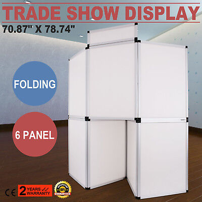 7Panel Exhibition Folding Banner Display Board Lightweight Stand Durable GOOD