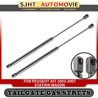 2x Tailgate Boot Trunk Gas Struts for Peugeot 307 2003-2007 Station Wagon 8731F8
