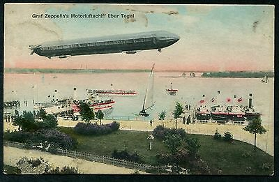 Germany (195) Airship Luftshiff Graph Zeppelin  Berlin Collection Pc Vf Unused