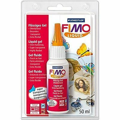 FIMO Liquid Polymer Modelling  Clay DEKO/DECO GEL 50ml Bakable Transfer Medium