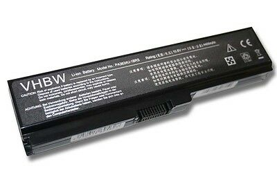 BATTERIE PC PORTABLE 4400mAh POUR TOSHIBA SATELLITE C655D C660 C660D ACCU
